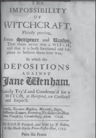 Cover of Anonymous's Book Impossibility Of Witchcraft