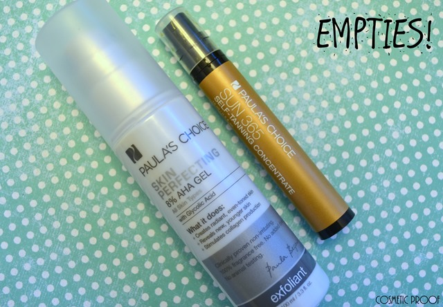 Paula's Choice Empties Review