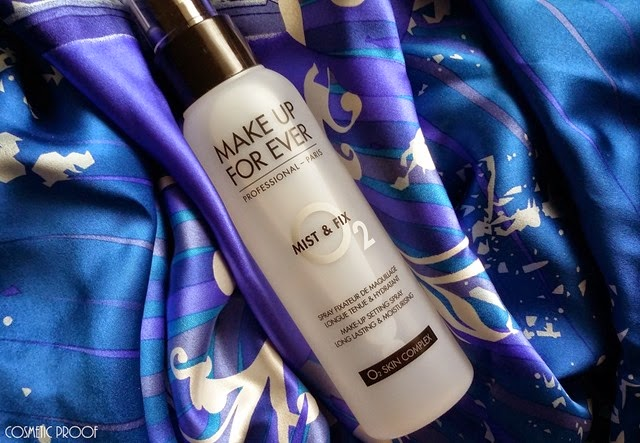MAKE UP FOR EVER Mist and Fix Review