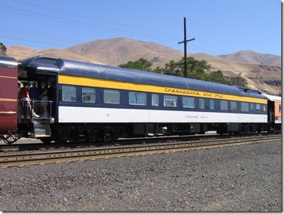 IMG_7767 Chesapeake & Ohio Office Car #3 'Chapel Hill' in Wishram, Washington on July 3, 2009