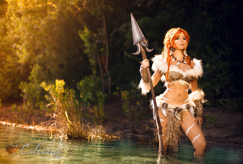 Ngắm cosplay cực chất về thợ săn hóa thú Nidalee