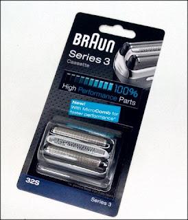 Scherkopf Ersatzteil für Braun Series3