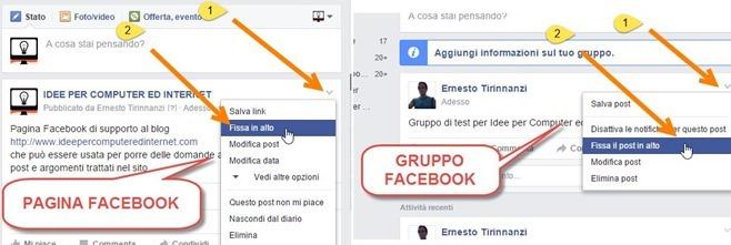 fissare-in-alto-post-gruppi-pagine-facebook