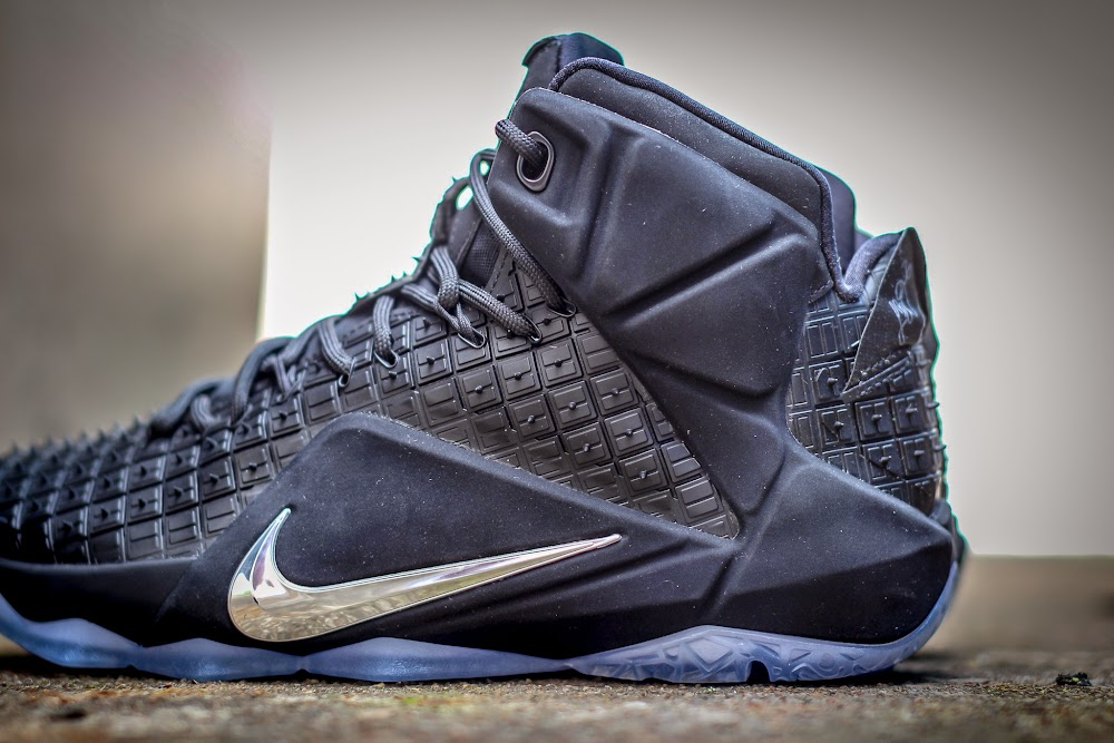 purchase cheap 5feaf b9cb8 Available Now Black 8220Rubber City8221 LeBron XII EXT ...