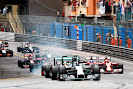 Start of the 2014 Monaco F1 GP