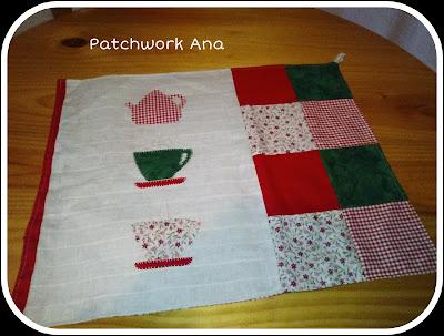 Patchwork y manualidades de Ana: Conjunto de cocina
