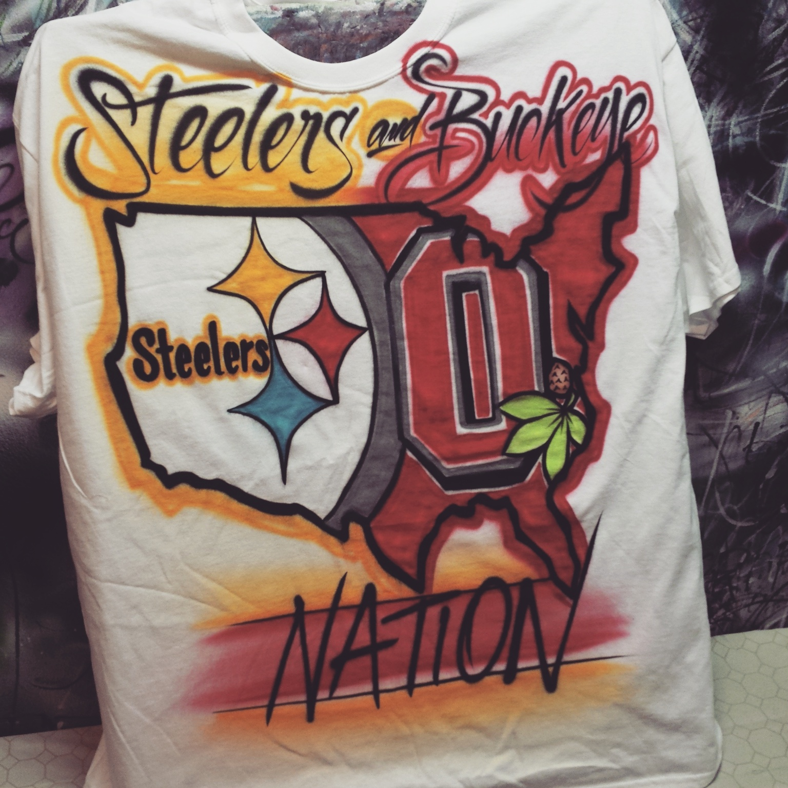 Ohio State Buckeyes And Pittsburgh Steelers Fans Meet
