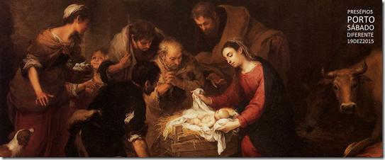 Bartolomé Esteban Murillo - Adoração dos Pastores