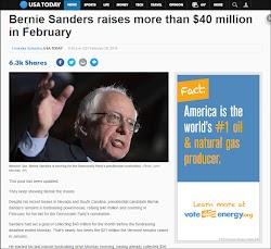 20160229_2130 Bernie Sanders raises more than $40 million in February (USAToday).jpg