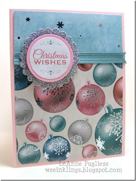 LeAnne Pugliese WeeInklings Pink Christmas