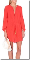 Vix Paris pleated kaftan