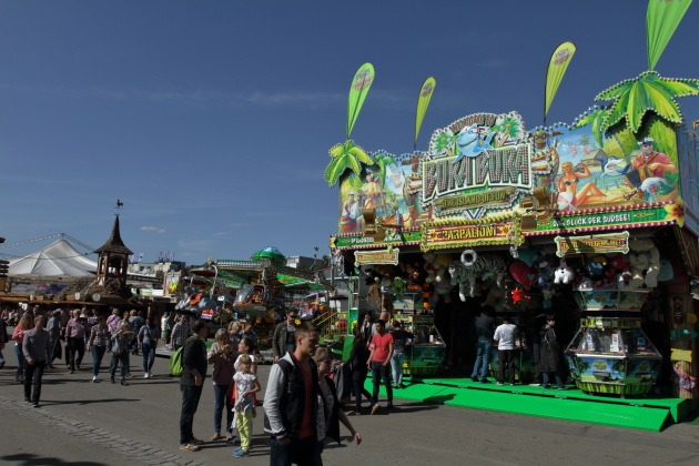 Avenues for fun all around at Stuttgart Spring Festival