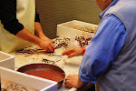 Preparing boquerones in Spain