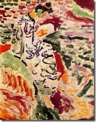 Matisse, la japonesa al borde del agua, 1905
