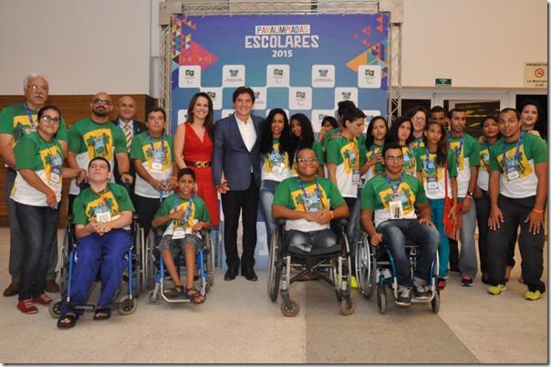 24 11 2015 abertura da Paralimpíadas Escolares fot Vivian Galvão-6