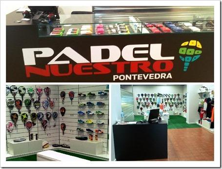 Abierta la primera tienda de pádel en Pontevedra de la mano de Padel Nuestro.