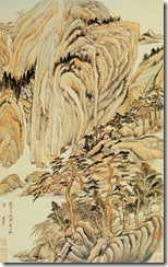 Dong_Qichang.Landscapes_in_the_Manner_of_Old_Masters_(Wang_Wei)._Album_leaf.1621-24_Nelson-Atkuns_Museum