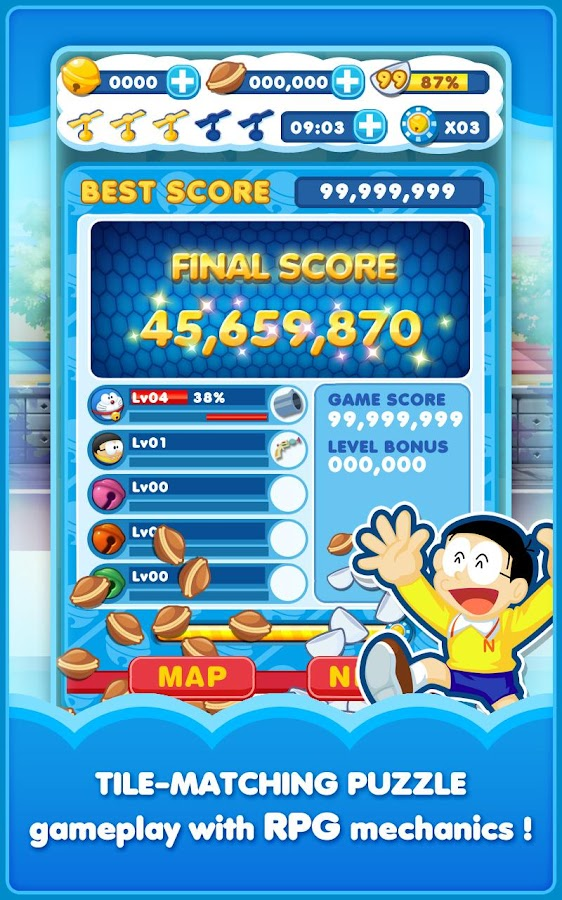 Doraemon Gadget Rush Screenshot 2