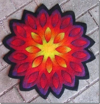 Blütenmandala Irene