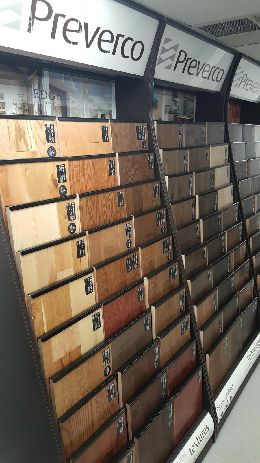 New Preverco Hardwood Flooring Display Edison Nj