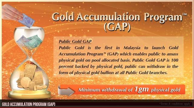 menabung emas dengan Gold Accumulation Program (GAP)
