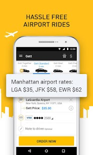APK App Gett - Car Service & Rideshare for BB, BlackBerry