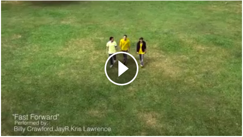 Image of Fast Forward Mar Roxas Ad Campaign Performed By Billy Crawford, JayR, and Kris Lawrence