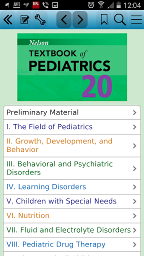 Nelson Textbook of Pediatrics For PC