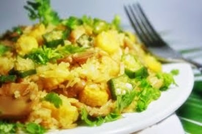 Baby corn fried rice vaish recipes baby corn fried rice ccuart Image collections