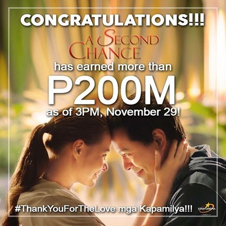 A Second Chance earns P200M