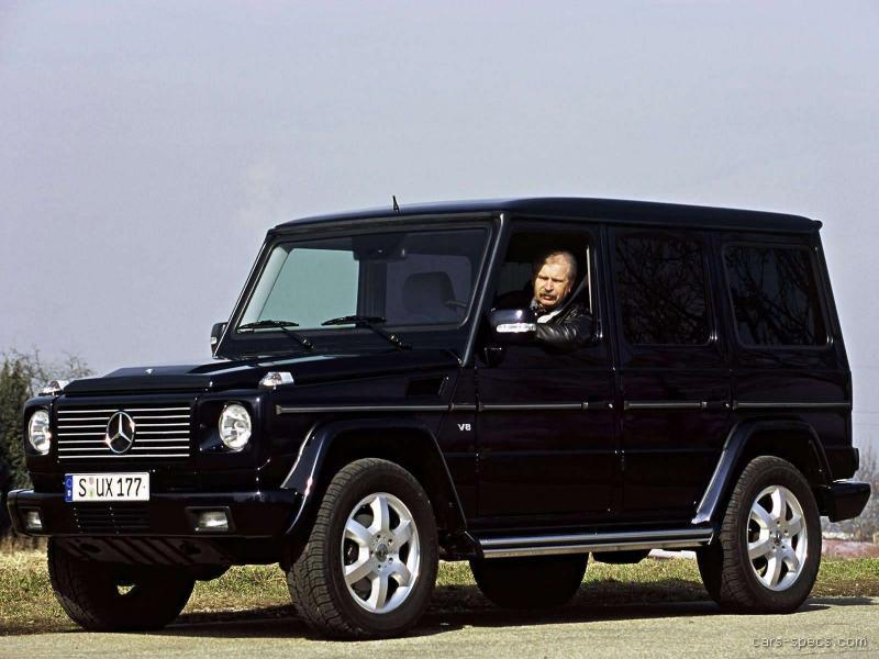 2004 Mercedes Benz G Class G55 Amg Specifications
