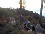 The highest camp spot at 2800m on Gunung Raung (Daniel Quinn, July 2011)