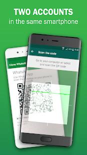 App Clone WhatsWeb: two accounts APK for Windows Phone