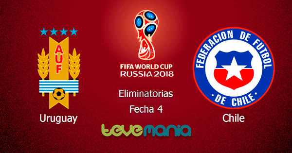 Ver Uruguay vs. Chile en Vivo - Eliminatorias Rusia 2018