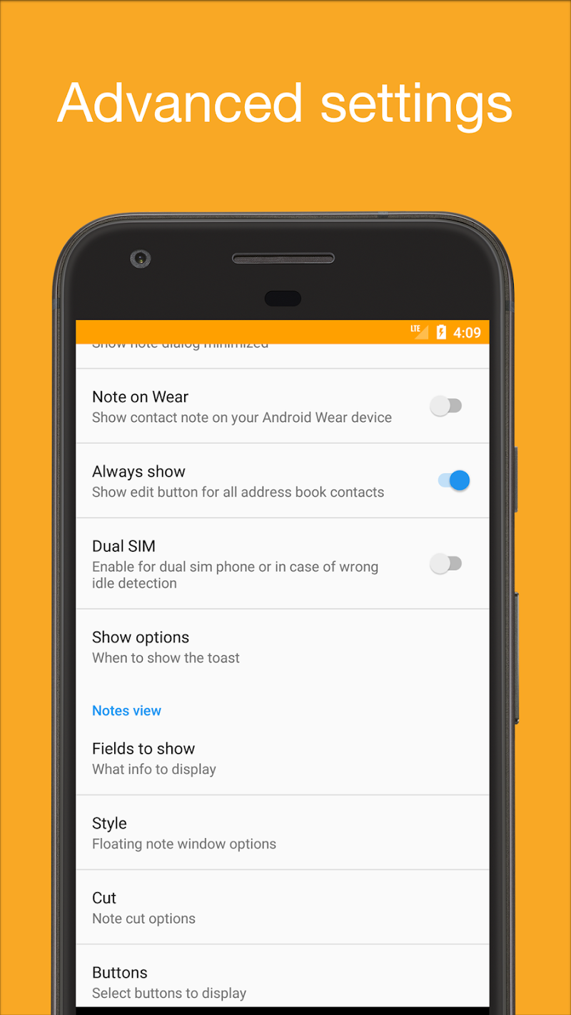Call Notes Pro - check out who is calling Screenshot 2