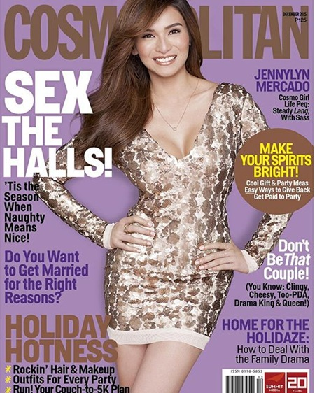 Jennylyn Mercado - Cosmopolitan PH December 2015