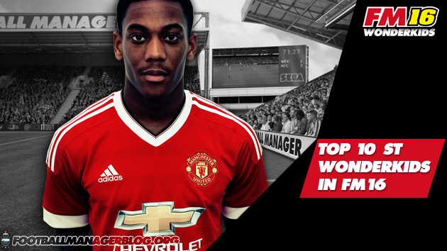 Top 10 Striker Wonderkids in FM16