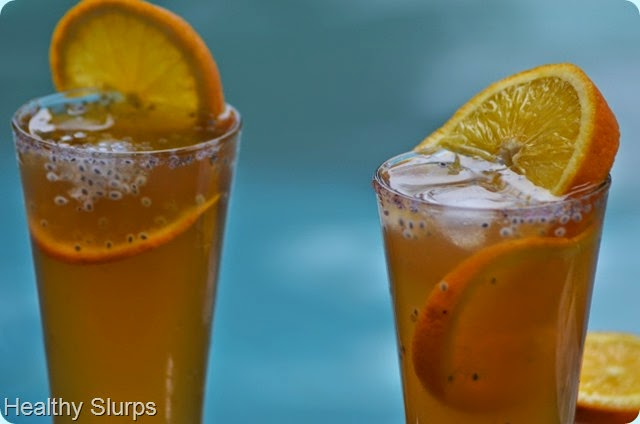 Enjoy chilled Iced Tea