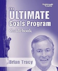 Cover of Brian Tracy's Book Ultimate Goals Program Guidebook