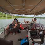 Wir hatten das komfortabelste Boot auf dem Kazinga-Kanal © Foto: Marco Penzel   Outback Africa