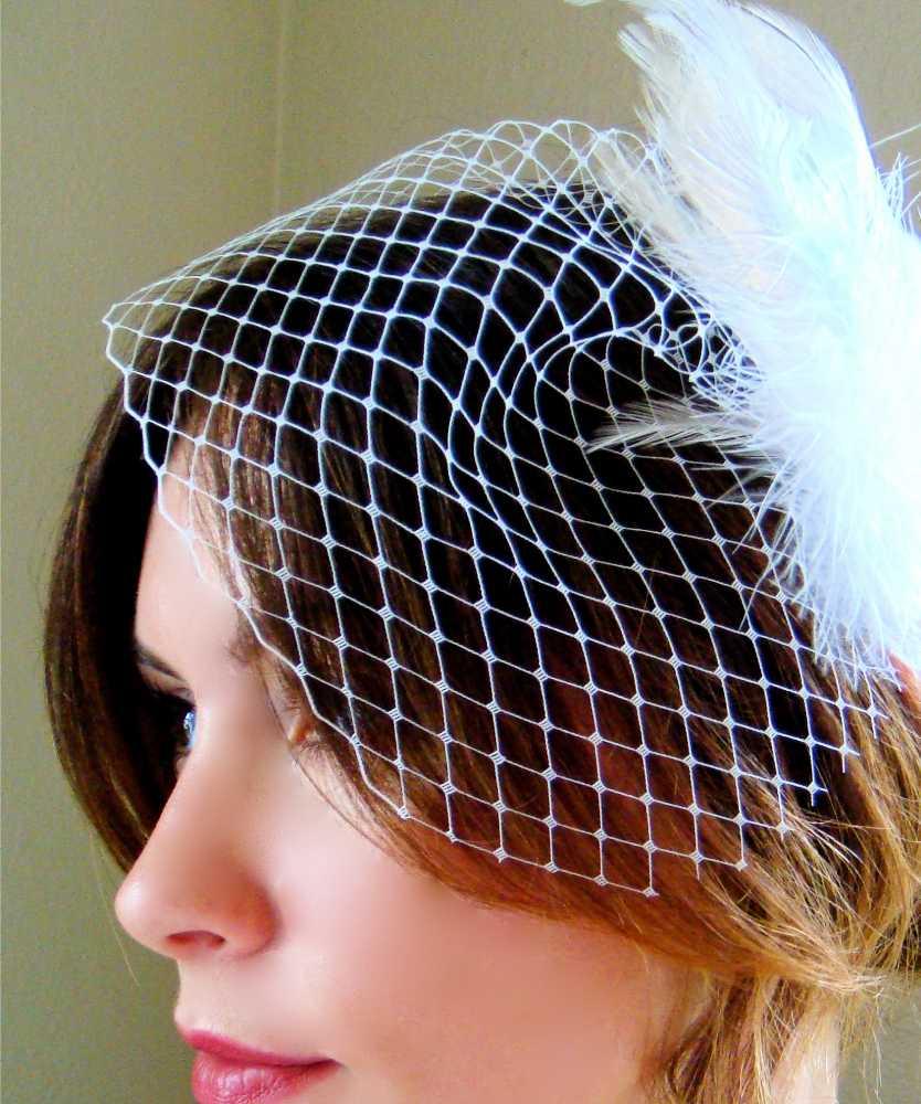 birdcage veil hairstyles
