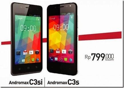 Smartfren Andromax C3s & Andromax C3si