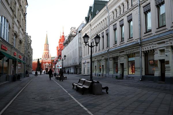 Улица Никольская москва
