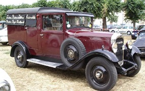 Citroen 1930 C4 commerciale