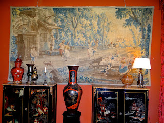 Антикварный гобелен 1780 г. 370/195 см. 8000 евро.