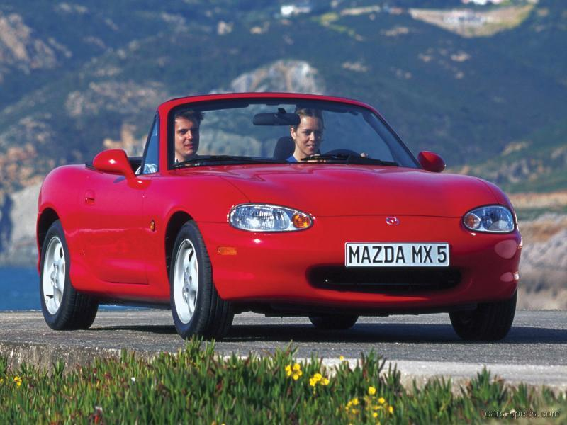 1999 mazda mx 5 miata convertible specifications pictures. Black Bedroom Furniture Sets. Home Design Ideas