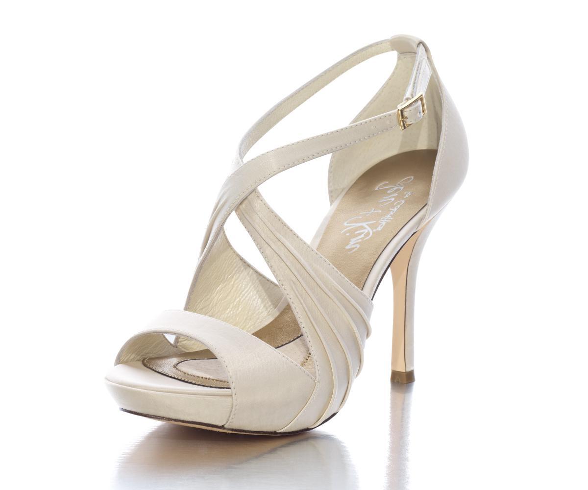 Luna Ivory Wedding Shoes