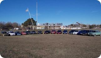 Se hace una muestra de automóviles en la localidad de Mar de Ajó