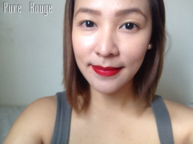L'Oreal Paris Star Collection Matte Reds in Pure Rouge