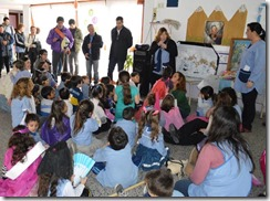 El intendente del Partido de La Costa, Juan Pablo de Jesús, visitó al Jardín N°901 de San Clemente